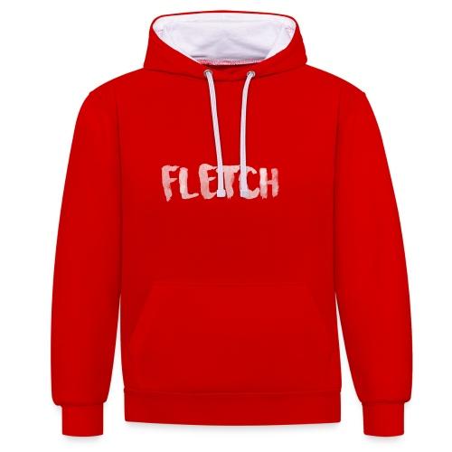 FLETCH Design v2 - Contrast Colour Hoodie