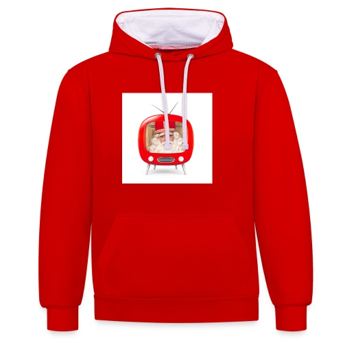 Video van Sint T-Shirt - Contrast hoodie