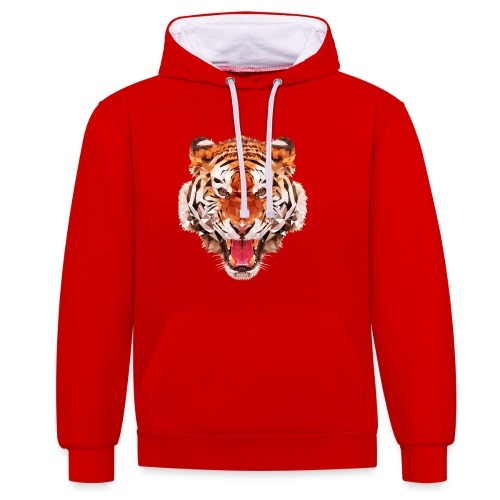 tiger low - Sweat-shirt contraste