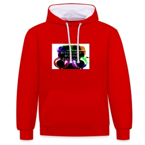 MCRS Twin Pipes - Contrast Colour Hoodie