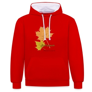 Streetworker art by Marcello Luce - autumn 2018 - Kontrast-Hoodie
