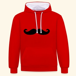 Loco Moustache - Contrast hoodie
