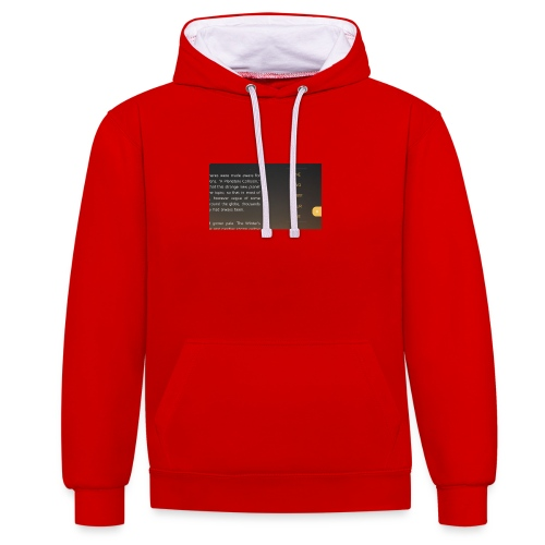 smart-jpg - Contrast hoodie