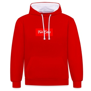 Fred Evans - Contrast Colour Hoodie