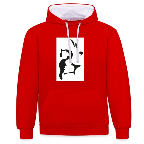 Lion-GINGER-page-001 - Sweat-shirt contraste