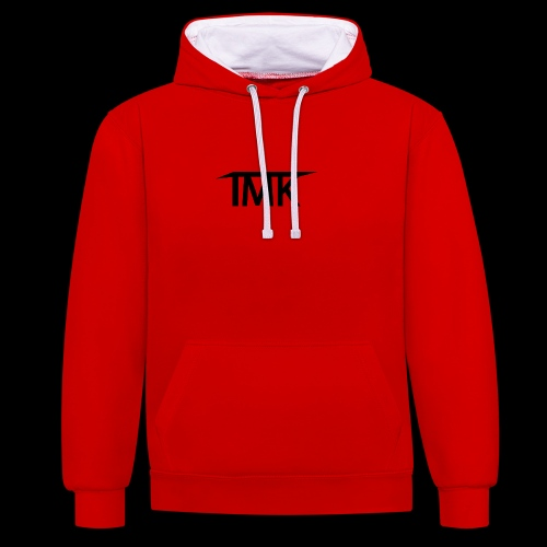TMK LOGO joined - Contrast Colour Hoodie