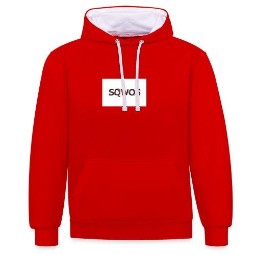 Naamloos - Contrast hoodie
