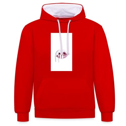 kylie jenner lips - Contrast hoodie