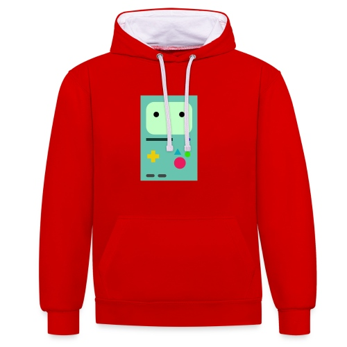 Bmo Phone Case - Contrast Colour Hoodie
