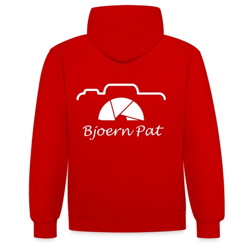 Logo BjoernPat - Kontrast-Hoodie