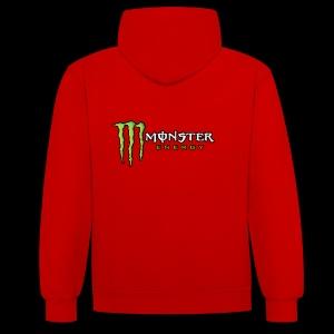 monster energy - Sweat-shirt contraste