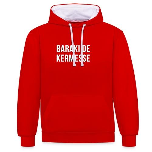 Baraki de kermesse - Sweat-shirt contraste