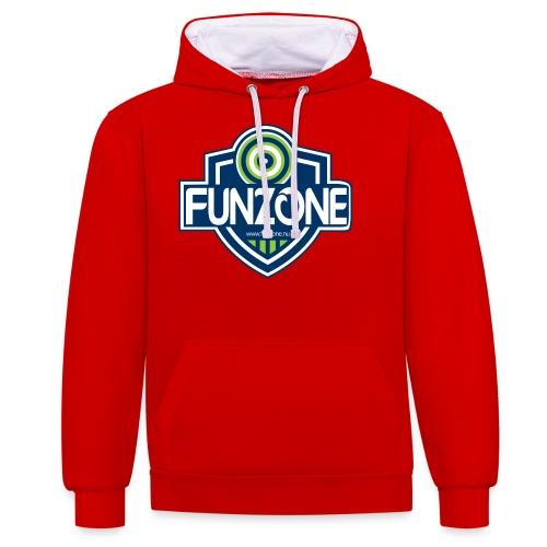 Funzone_logo_ljus_bakgrund - Kontrastluvtröja