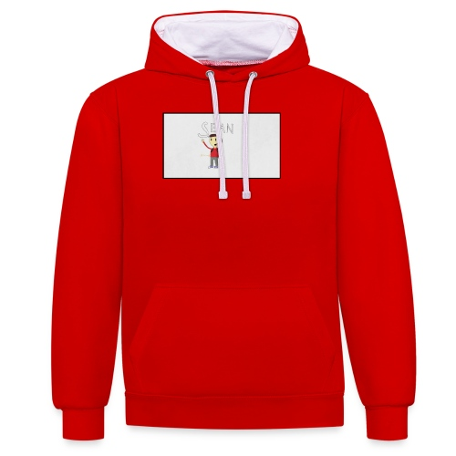 received_552517744928329 - Contrast Colour Hoodie