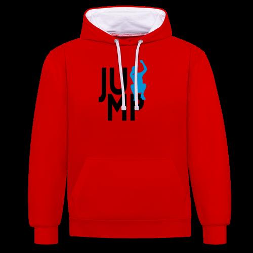 JUMP - Kontrast-Hoodie