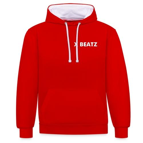 XBEATZ BASIC LINE - Contrast hoodie