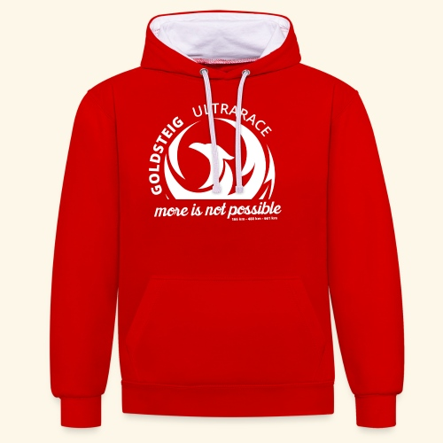 Goldsteig Ultrarace Fan Edition - Kontrast-Hoodie