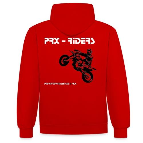 PRX Design - Kontrast-Hoodie