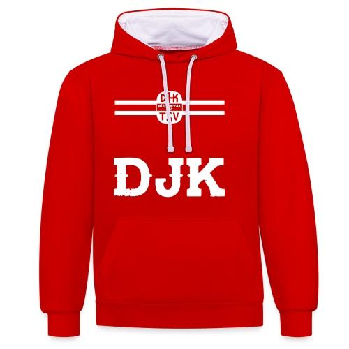 DJK BRUSTRING - Kontrast-Hoodie