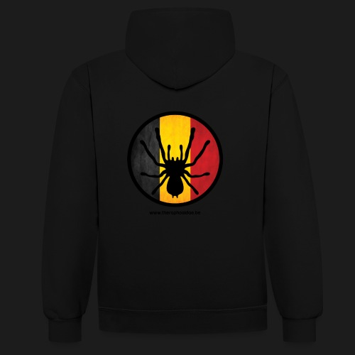 Official - Contrast Colour Hoodie