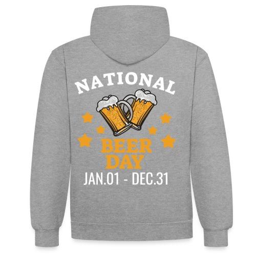national beer day - Kontrastihuppari