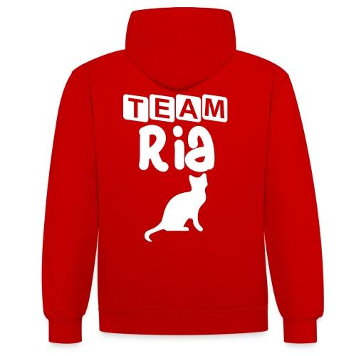 Team Ria - Contrast Colour Hoodie