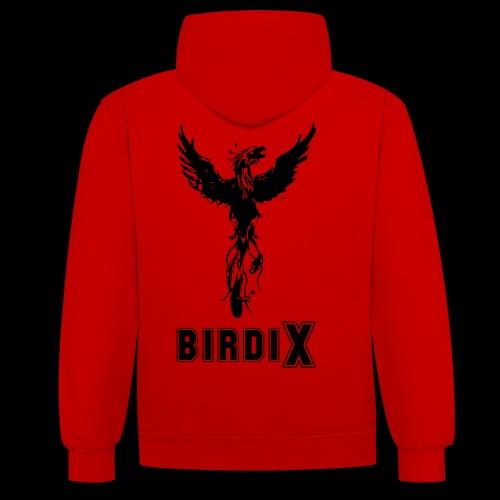LOGO birdix 10x15 - Sweat-shirt contraste