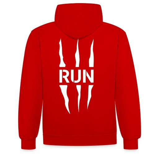 Run Scratch - Sweat-shirt contraste