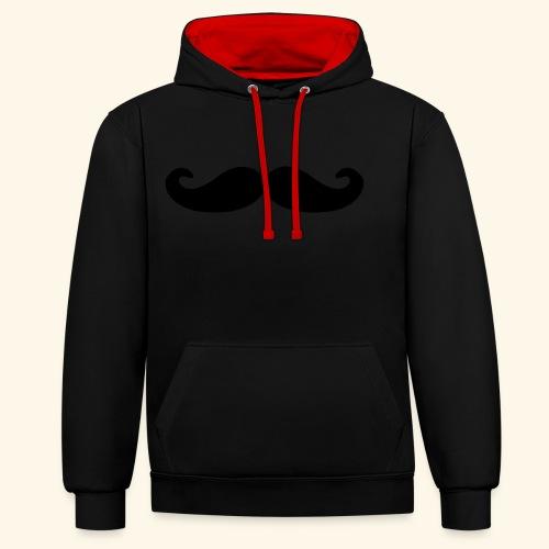 Loco Moustache - Contrast hoodie