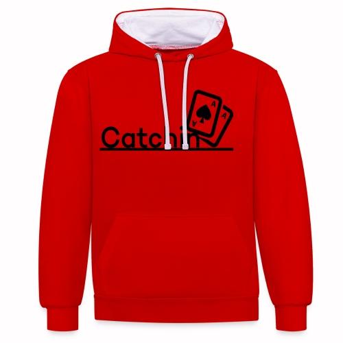 Catchin DoubleCards - Contrast hoodie