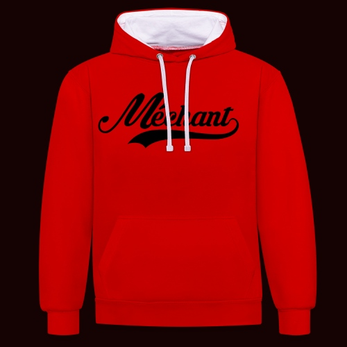 mechant_logo - Sweat-shirt contraste