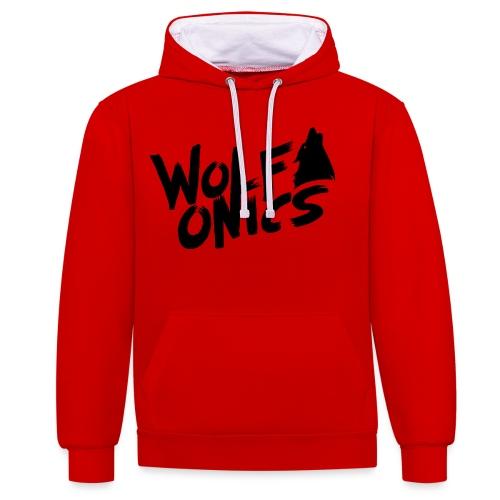 Wolfonics - Kontrast-Hoodie