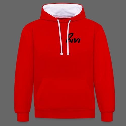 Rivi Edition - Kontrast-Hoodie