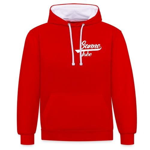 Merchandise wit - Contrast hoodie