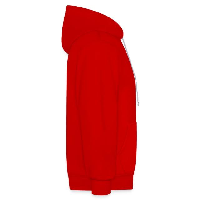 Vorschau: cat zipper pocket - Kontrast-Hoodie