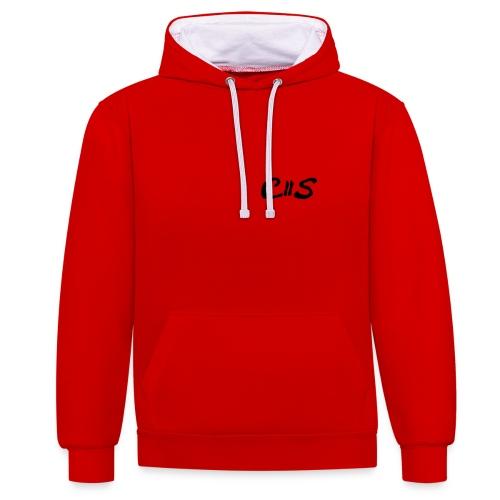 C2S - Contrast hoodie