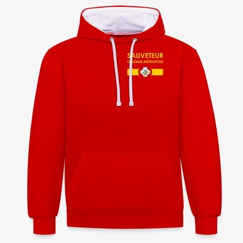 Gamme Sauveteur Aquatique - Sweat-shirt contraste