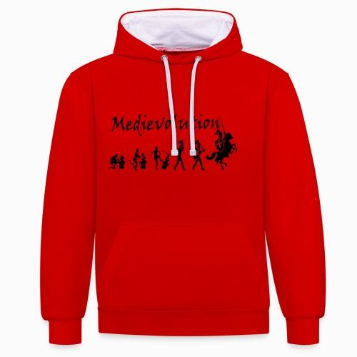 Medievolution - Sweat-shirt contraste