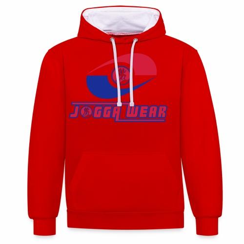 Joggawear Label Trademark - Contrast Colour Hoodie