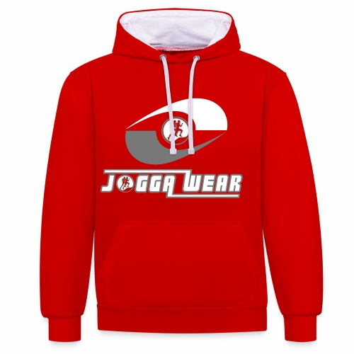 Joggawear Label Trademark - Contrast Colour Hoodie