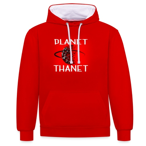 Planet Thanet - Made in Margate - Contrast Colour Hoodie