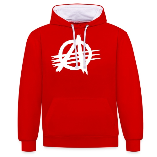 AGaiNST ALL AuTHoRiTieS - Contrast Colour Hoodie