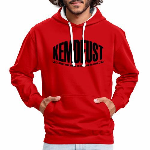 Kemdeust Cava - Contrast hoodie