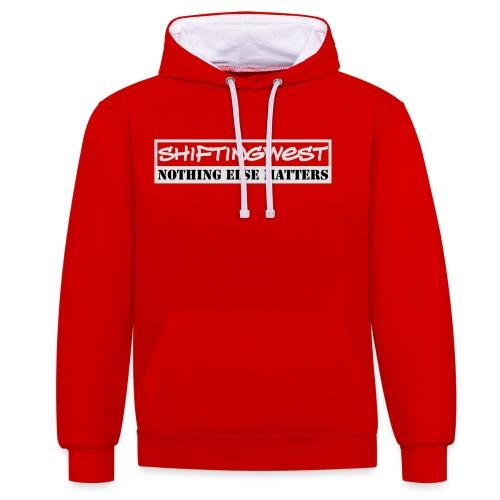 Shiftingwest Hoodie Nem v - Contrast hoodie