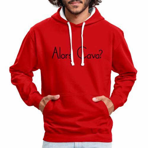 Alors Cava - Contrast hoodie