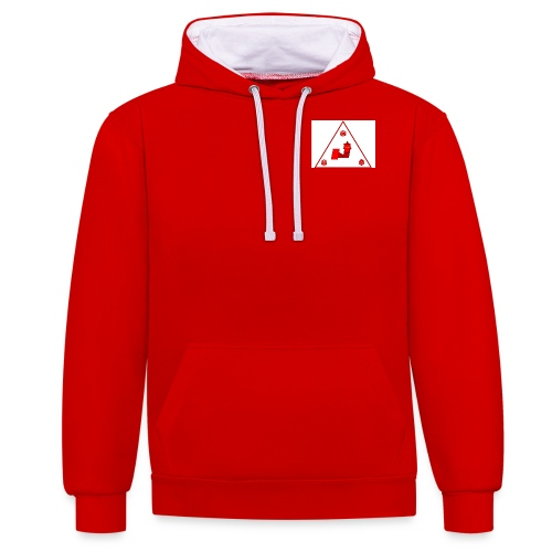 Ddaprod games logo PNG - Sweat-shirt contraste