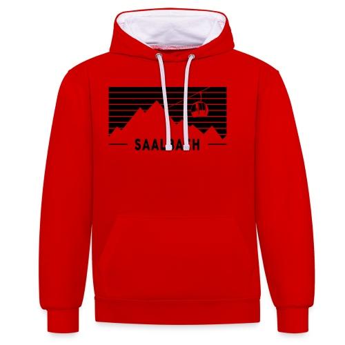Saalbach Stripes - Contrast hoodie