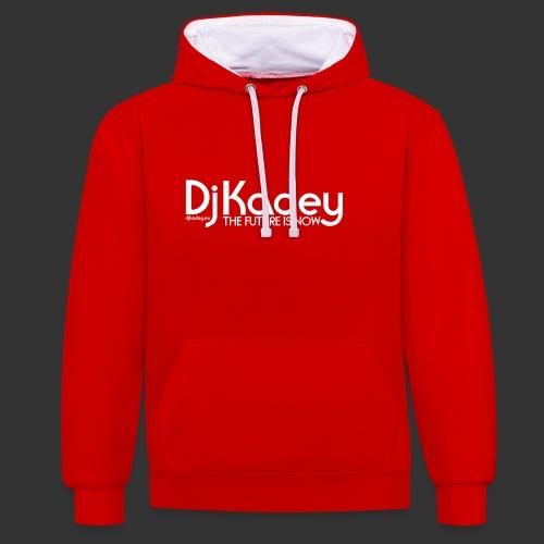 White Dj Kadey Logo - Sweat-shirt contraste