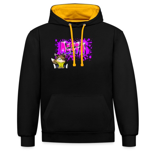 Graffiti ASSIA - Sweat-shirt contraste