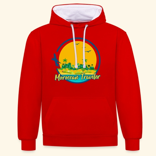 Moroccan Traveler - Sweat-shirt contraste
